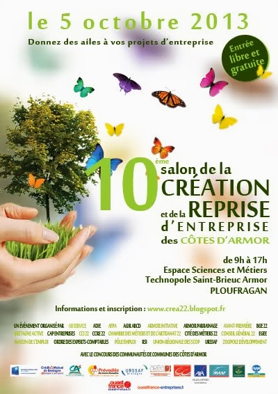 10 me salon de la cr ation et de la reprise d entreprise for Salon creation entreprise